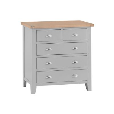 Hampshire 2 over 3 drawer tallboy