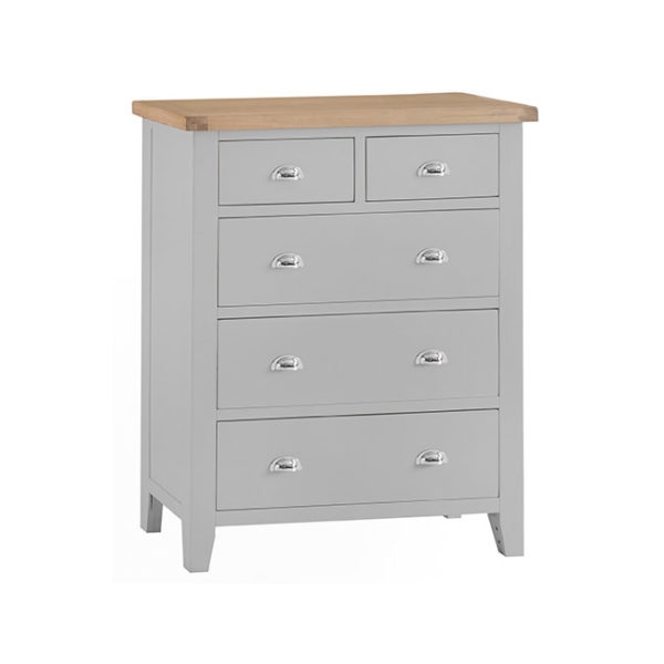 Hampshire Large 2 over 3 drawer tallboy