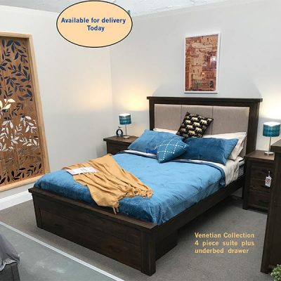 Venetian Bedframe with Collection