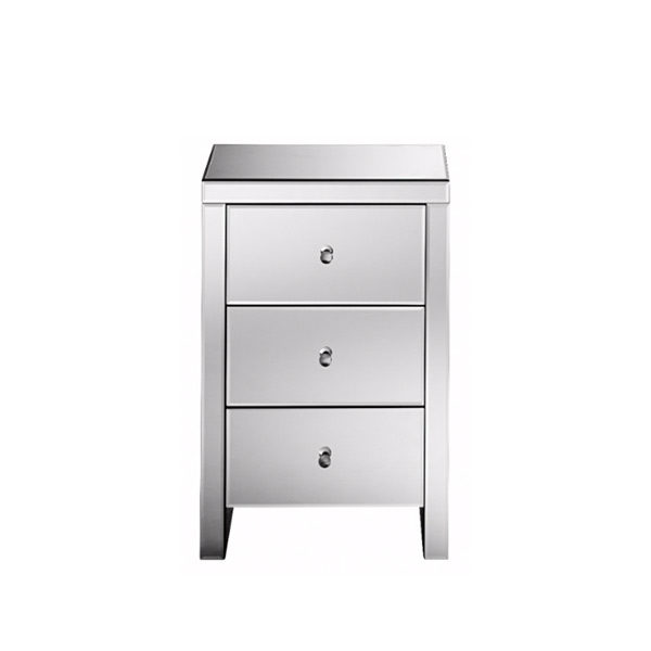 Monaco Mirrored Bedside Table